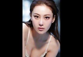 火辣的女孩是谁最美丽和最知名的亚洲2014年。 亚