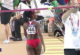 席尔瓦:性感的屁股巴西的奥运会跳,这是一屁股